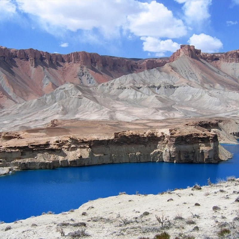 The Deep Blue Lakes of Band-e-Amir, Afghanistan