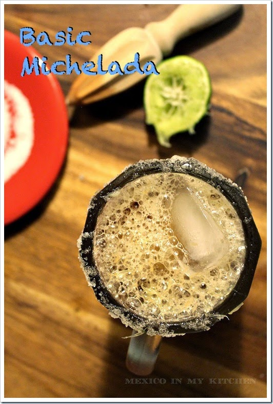 Basic Michelada Cocktail Recipe | Mexican Recipes