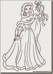 princesas_disney_natal_desenhos_pintar_imprimir06