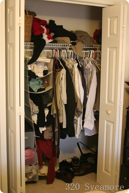 Mini Closet Makeover