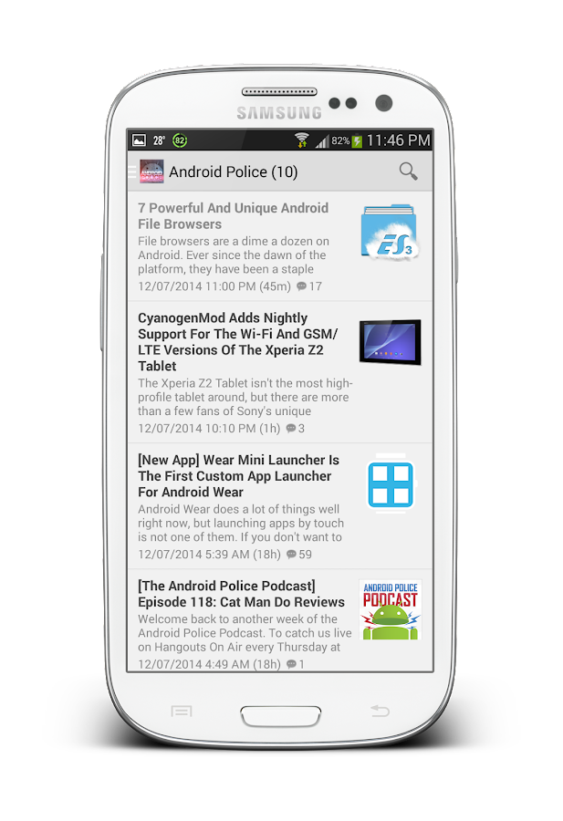 AP App for Android™- screenshot