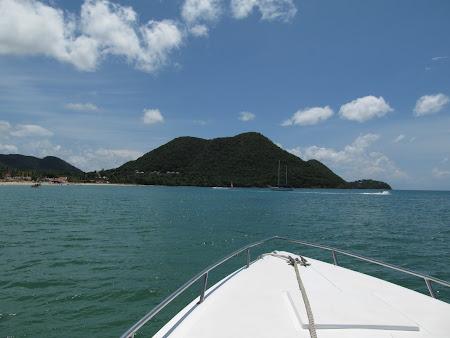 Cu salupa prin Caraibe
