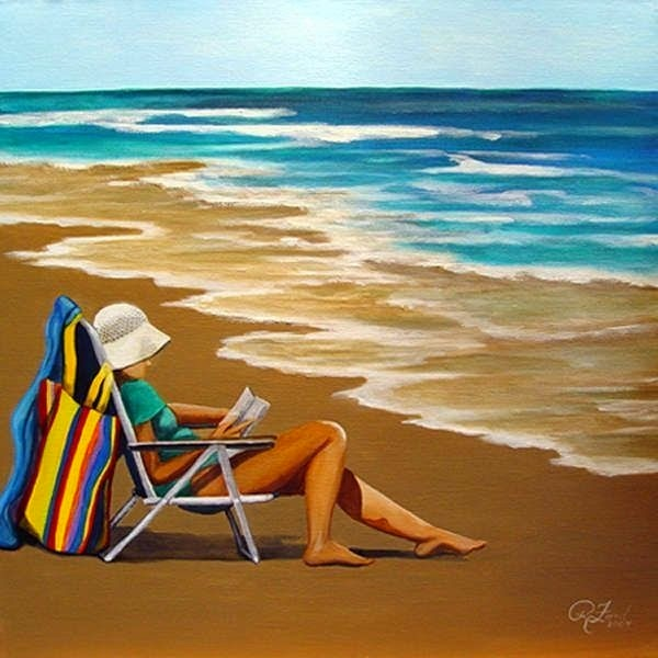 Solitude-Woman-at-the-Beach