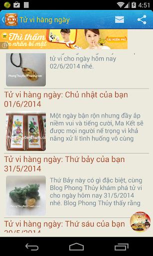 Tu Vi - Phong Thuy - Tình Yêu