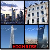 HIGHRISE- 4 Pics 1 Word Answers 3 Letters