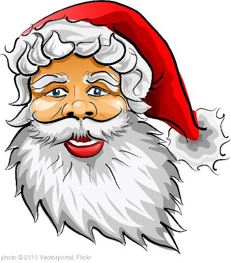 'Santa Claus Vector Image' photo (c) 2010, Vectorportal - license: http://creativecommons.org/licenses/by/2.0/