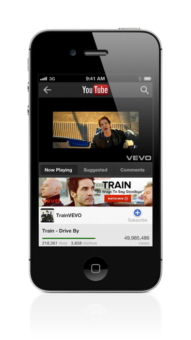 New iPhone YouTube App