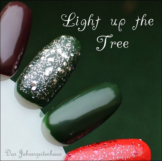 Essence Happy Holidays Nagellack Duo 03 Light up the Tree Swatches 2
