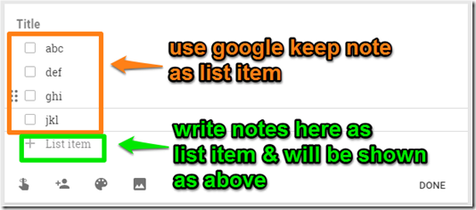 list-item-google-keep