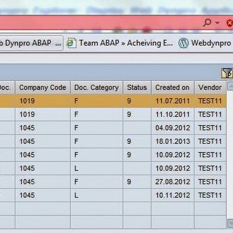 Coloring a cell in Table UI element - Team ABAP