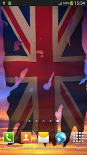 UK Flag Live Wallpaper - screenshot thumbnail
