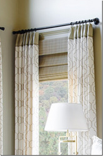 See How These Curtains Are Attached So Close To The Wall. By Hiring A  Professional Window Treatment Designer, They Will Be Able To Order The  Proper Rod For ...