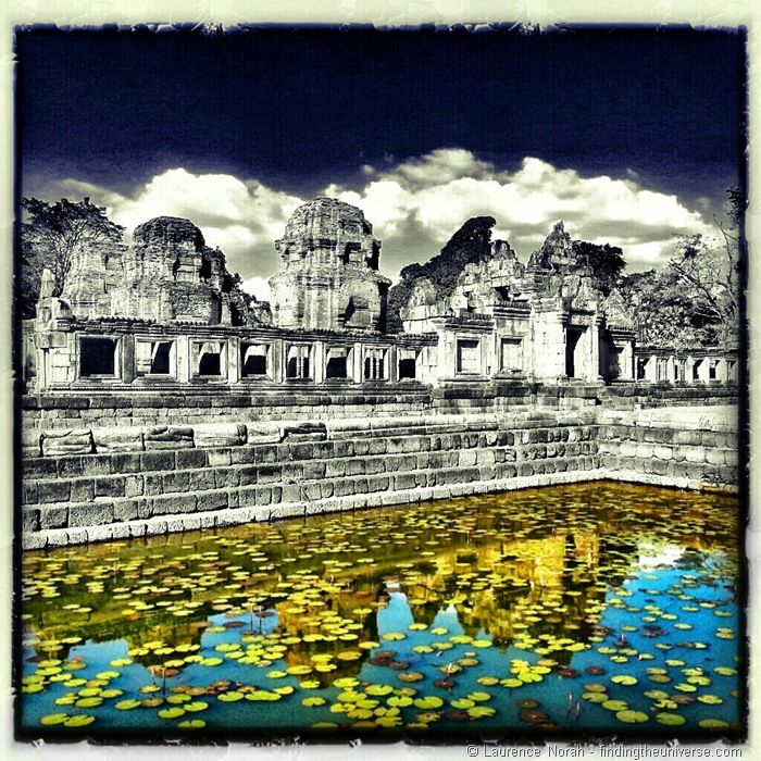 Temple reflection Thailand