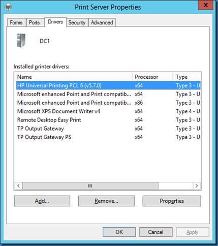Install printer: script to install printer windows 7.