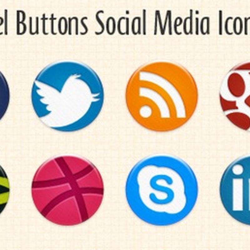 Descargar íconos social media en forma circular