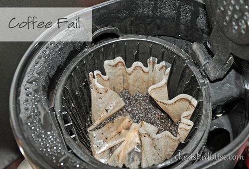 coffee fail