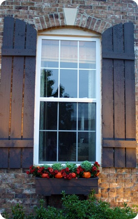 cottage style shutters