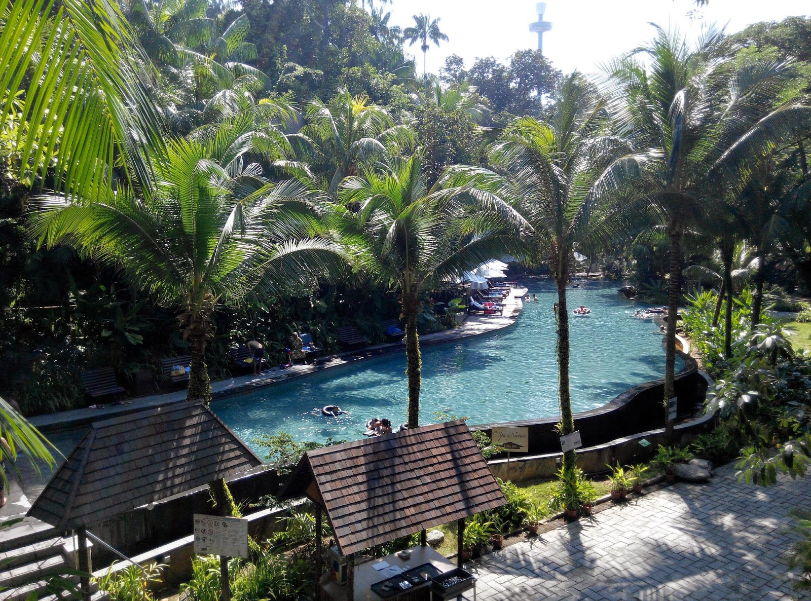 My lilac room staycation in sentosa siloso beach resort - Siloso beach resort swimming pool ...