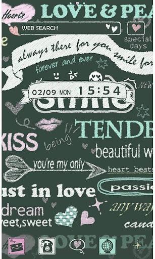 かわいい壁紙・アイコン-KISS SMILE-無料