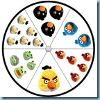 Clip and Learn Angry Birds Counting