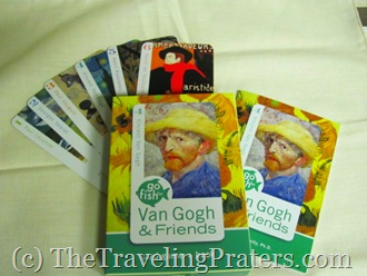 Go Fish for Van Gogh and Friends card game and book