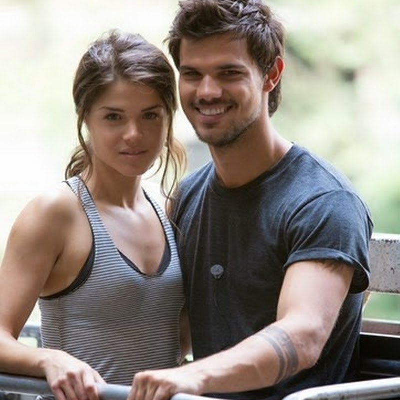 "Marie Avgeropoulos Teams Up With Taylor Lautner In A Man's World In ""Tracers"""