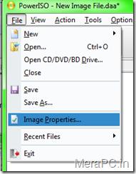 accesing image properties...