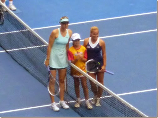 Sharapova and Cibulkova