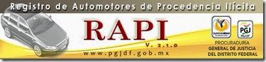 RAPI.pgjdf.GOB.MX consulta placas de carros rapido y gratis 2019 y 2020 Fiscalis General de Ciudad de Mexico