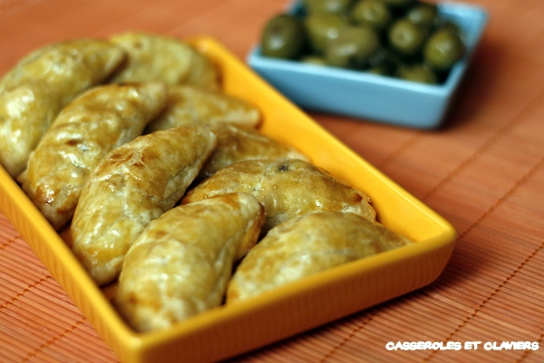 Small Oriental Lamb and Beef Turnovers Recipe