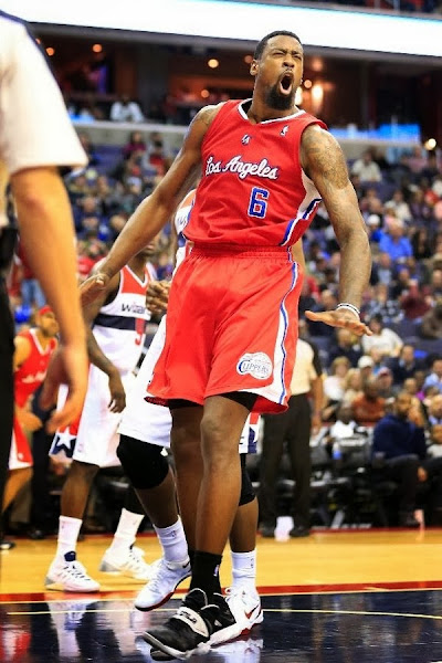 Wearing Brons Deandre Jordan Back To Nike With Soldier 7