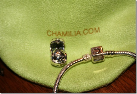 Chamilia Bracelet with bag