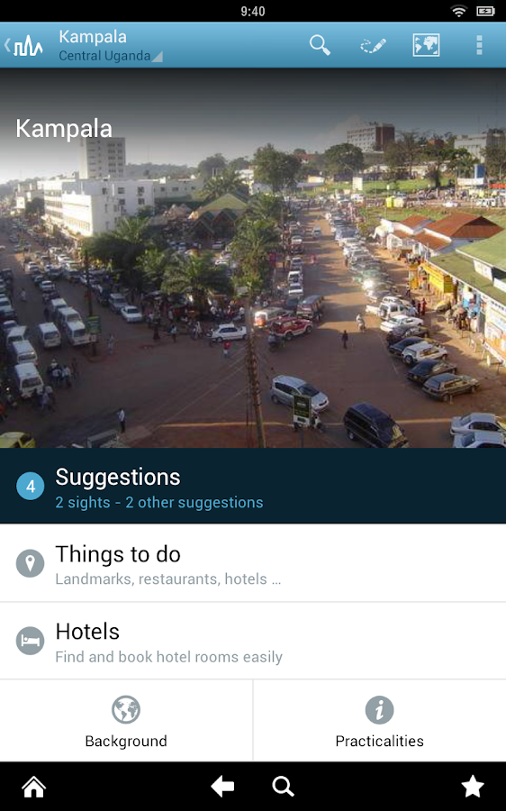 uganda travel guide by triposo android apps on google play. Black Bedroom Furniture Sets. Home Design Ideas