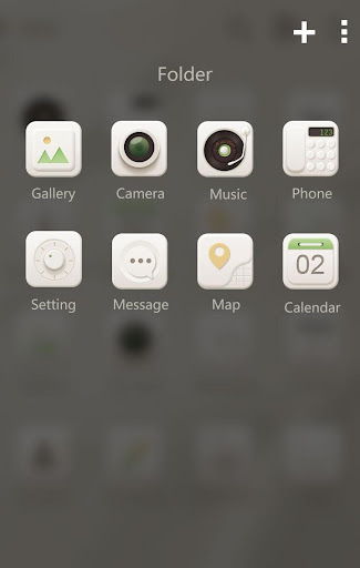 【免費個人化App】Soft cream GO Launcher Theme-APP點子