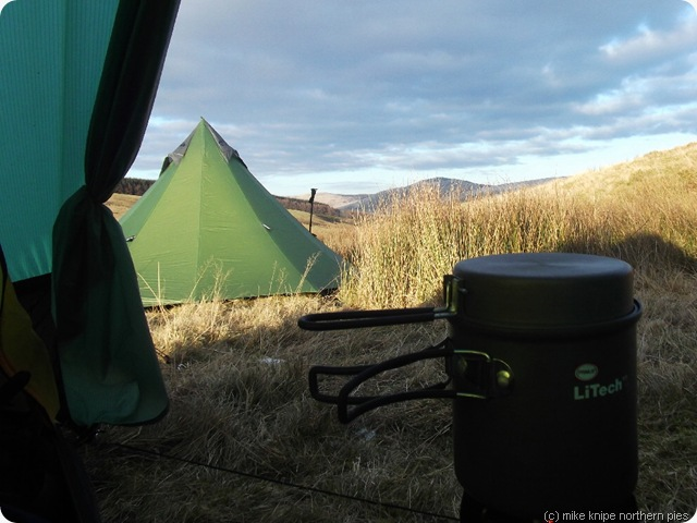 camp at the back burn