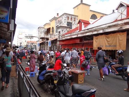 Obiective turistice Mauritius: Piata Centrala Port Louis