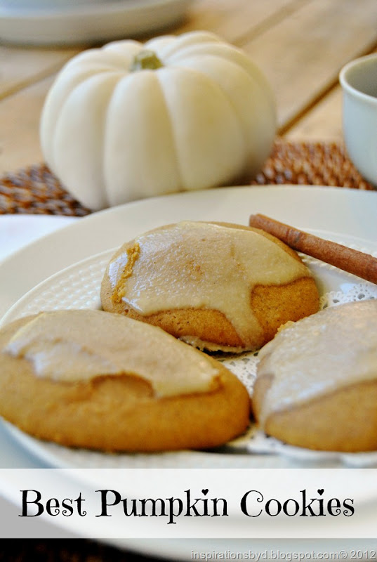 Best Pumpkin cookies