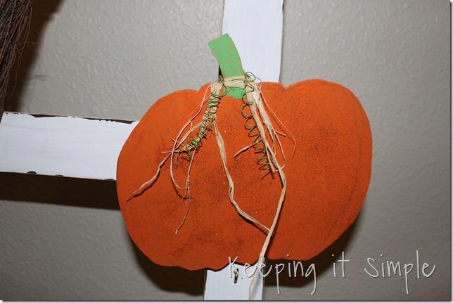 DIY Halloween Ladder decor (5)
