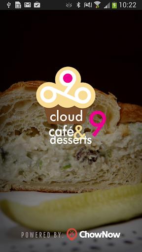 Cloud 9 Cafe Desserts