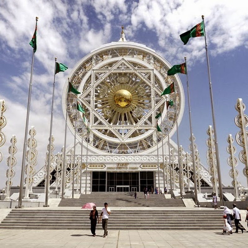 Ashgabat: The City of White Marbles