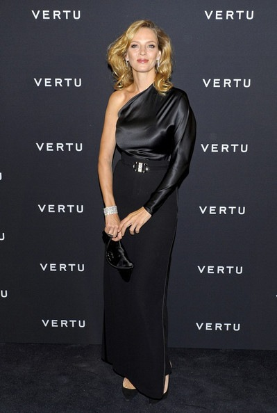 Uma Thurman Vertu global launch