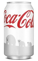 White Coke Cans