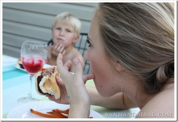 crab cake burger