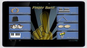 Screenshot of Finger Band Lite HD for Tablet