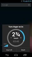 Screenshot of Shush! Ringer Restorer