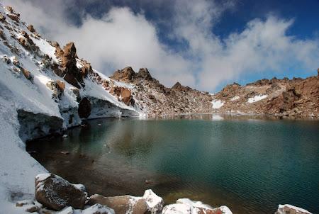 Iran Sabalan lacul din varf