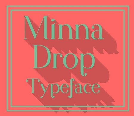 Minna-Drop-Free-Typeface