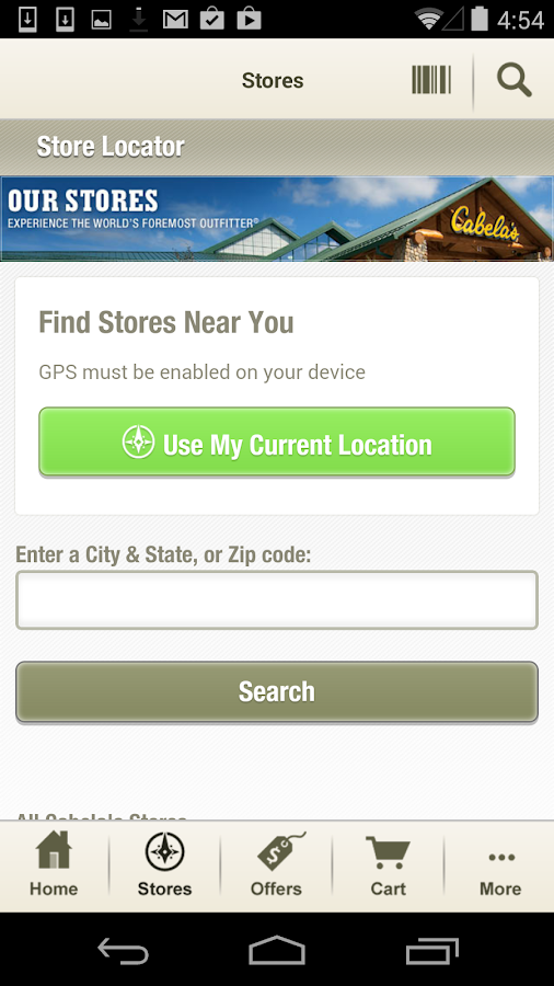 Cabela's- screenshot