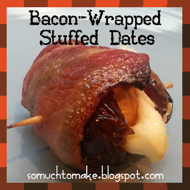 Bacon-Wrapped Stuffed Dates