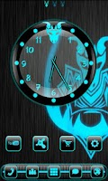 Screenshot of Dragonglow Clock Widget